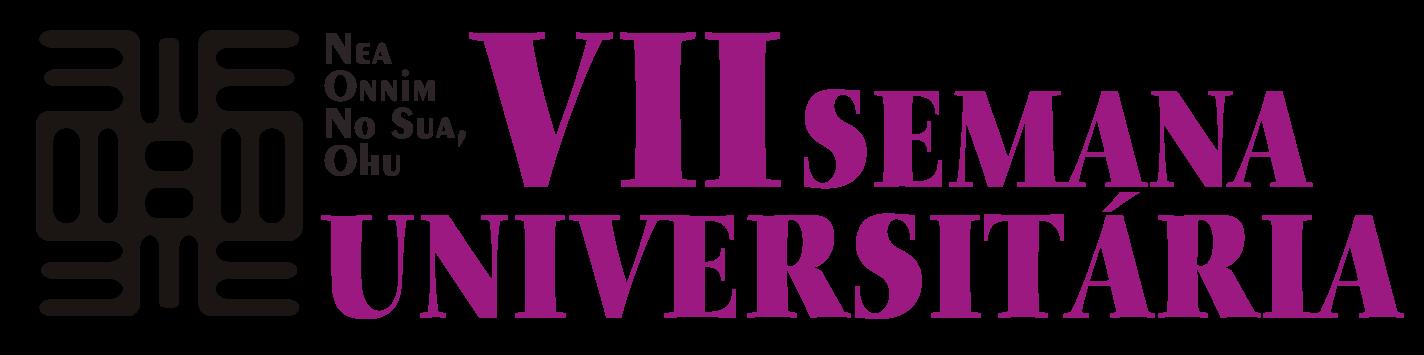Logomarca de Semana Universitária da Unilab